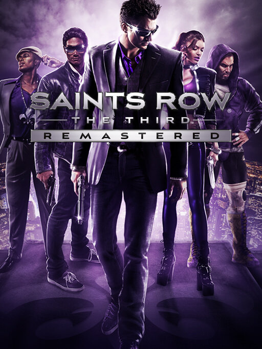 Poster for Saints Row: The Third Remastered