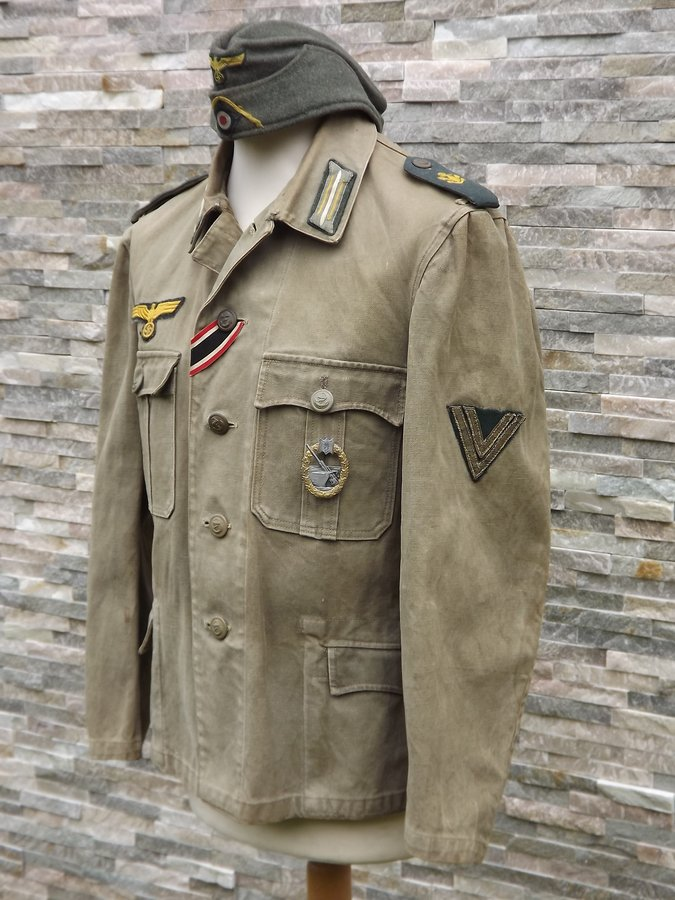 Veste toile KM Artillerie Cotière 200523123455598157
