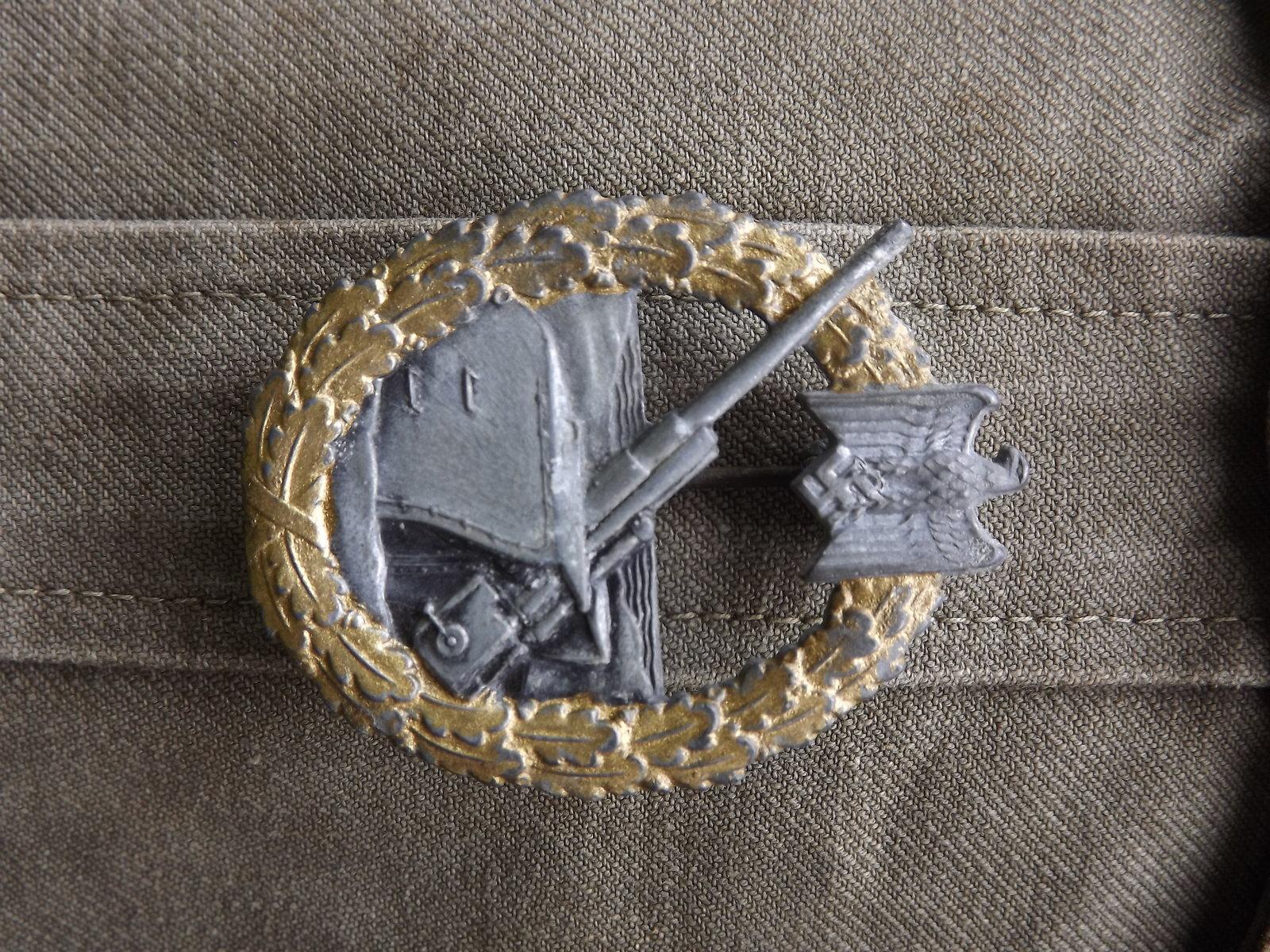 Veste toile KM Artillerie Cotière 200523123705750486