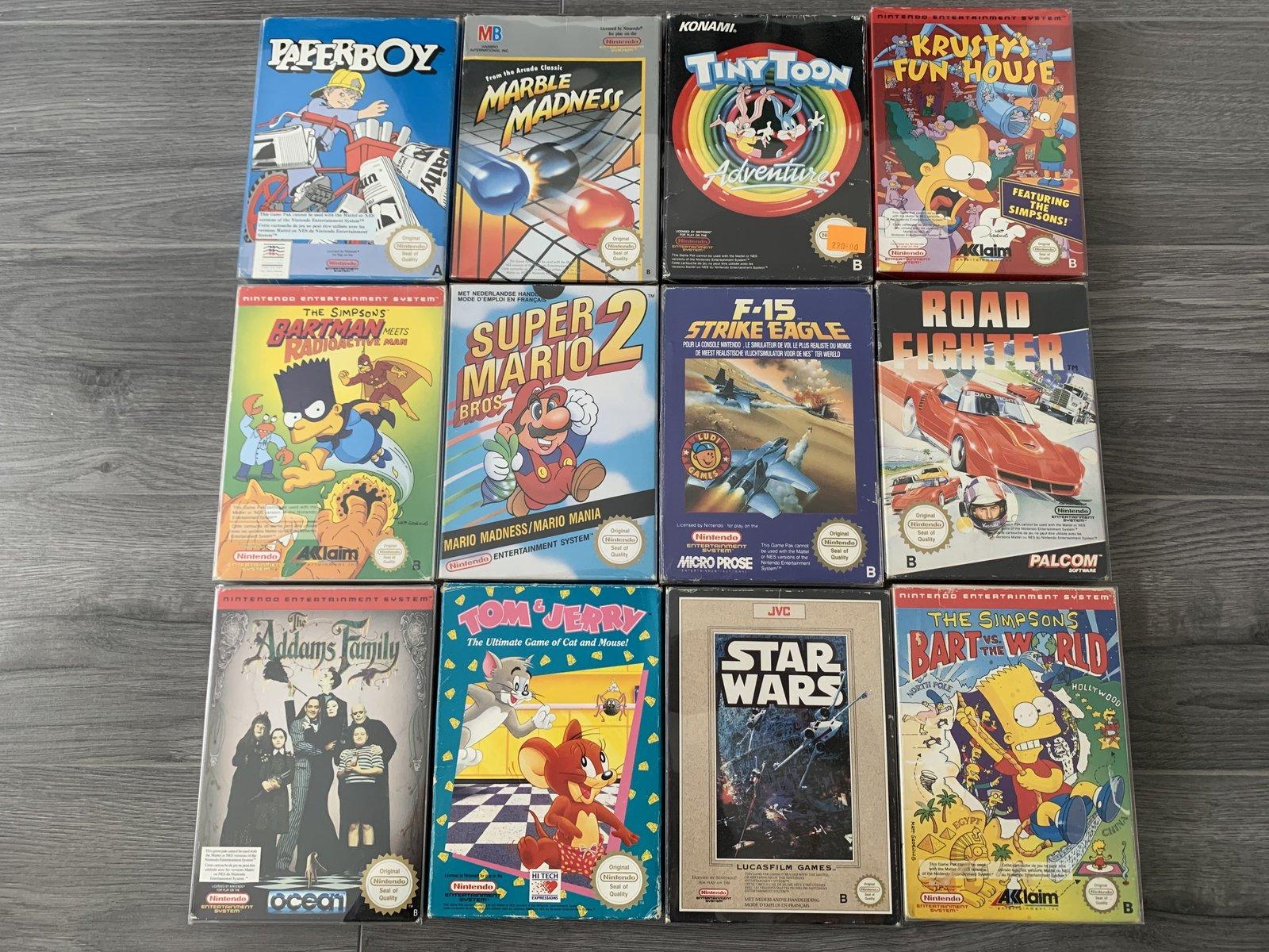 [VENDUE] Ma Collection complète de jeux NES PAL B en boite complète  200525010527131377