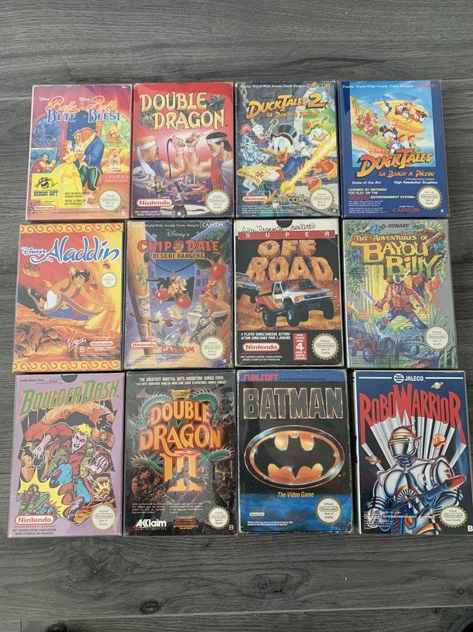 [VENDUE] Ma Collection complète de jeux NES PAL B en boite complète  200525010603371165