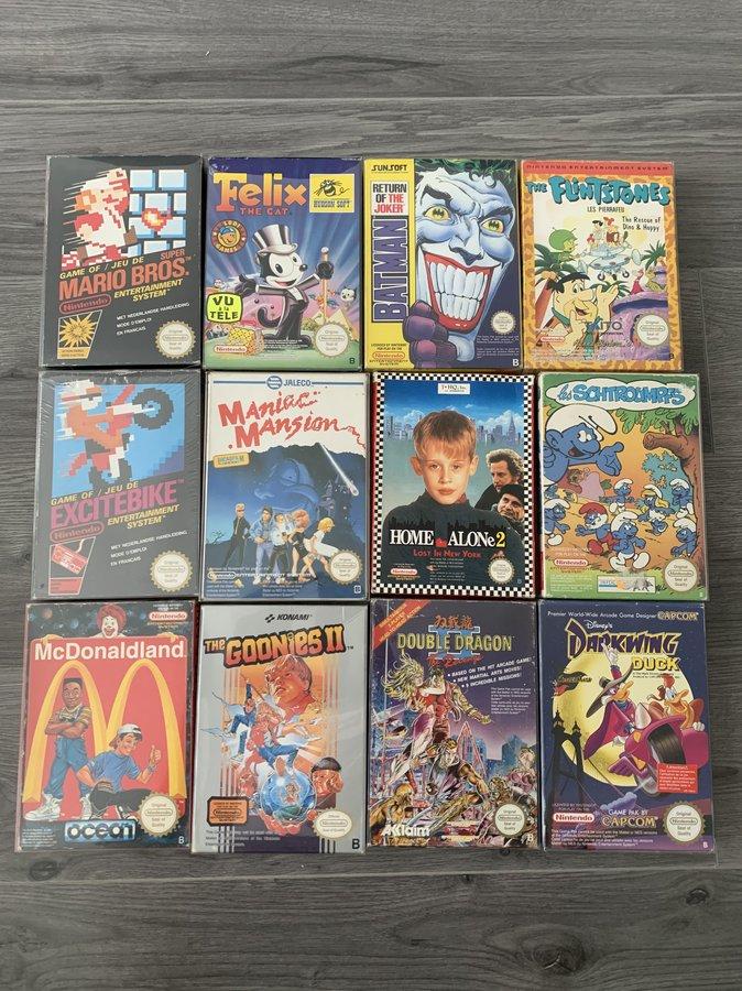 [VENDUE] Ma Collection complète de jeux NES PAL B en boite complète  200525010625822288