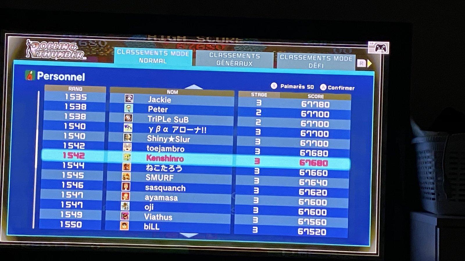 [SCORING] NAMCO MUSEUM (Arcade Pac) 200527020400568002