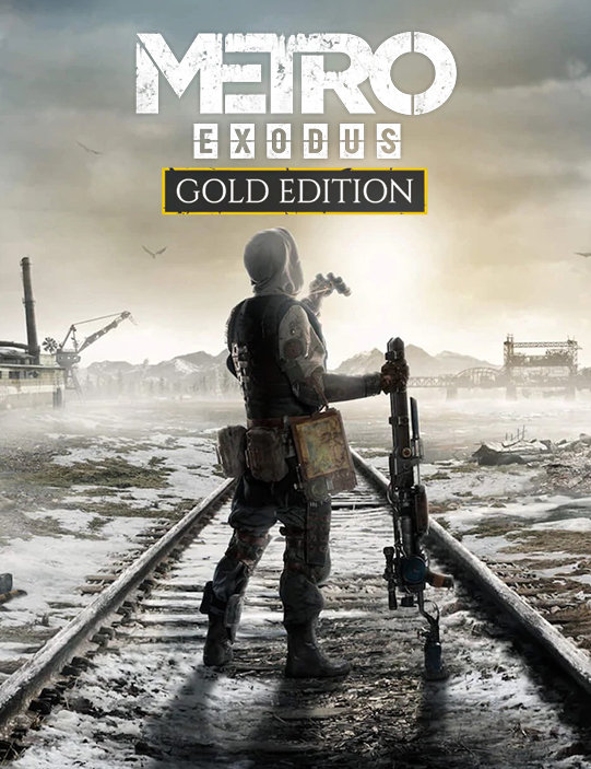 Poster for Metro Exodus - Gold Edition