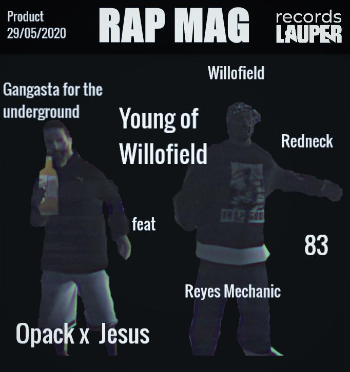 Affiche Clip Opack - Jesus 200529113403372259