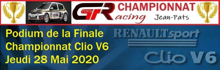 Résultats de la Finale du Championnat Clio V6 28/05/2020 20053003255420009