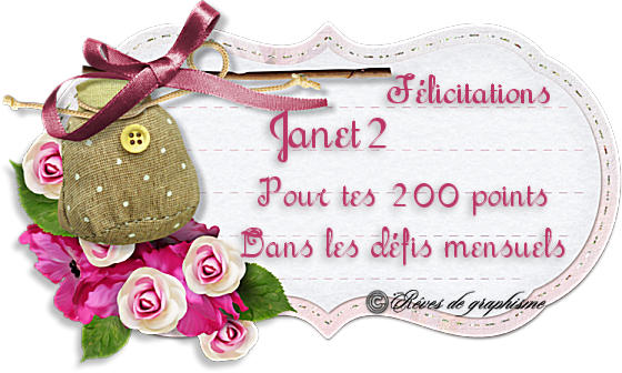 Récompense Janet 200 points 200601025724559148