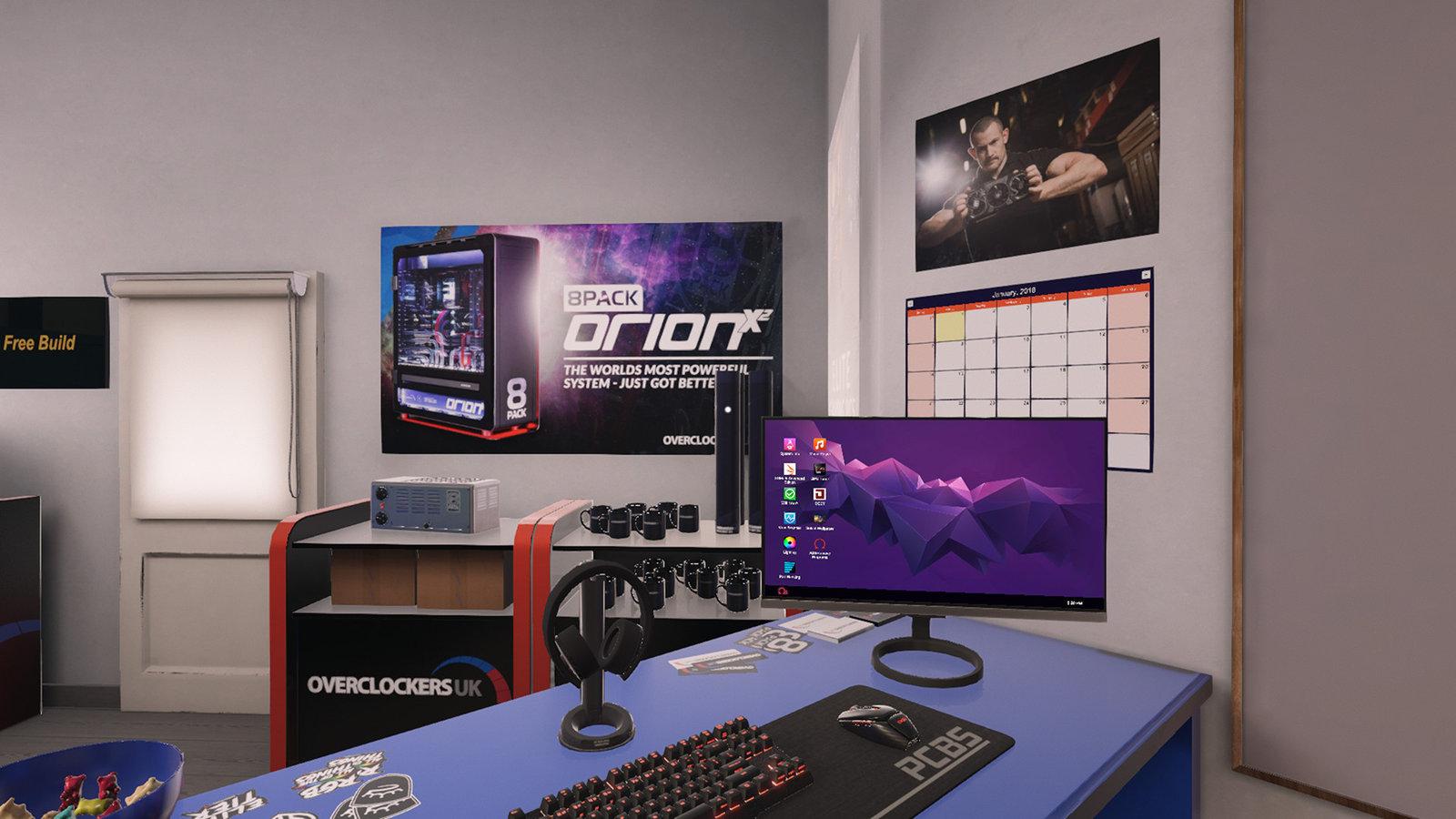 PC Building Simulator - Overclockers UK Workshop image 1