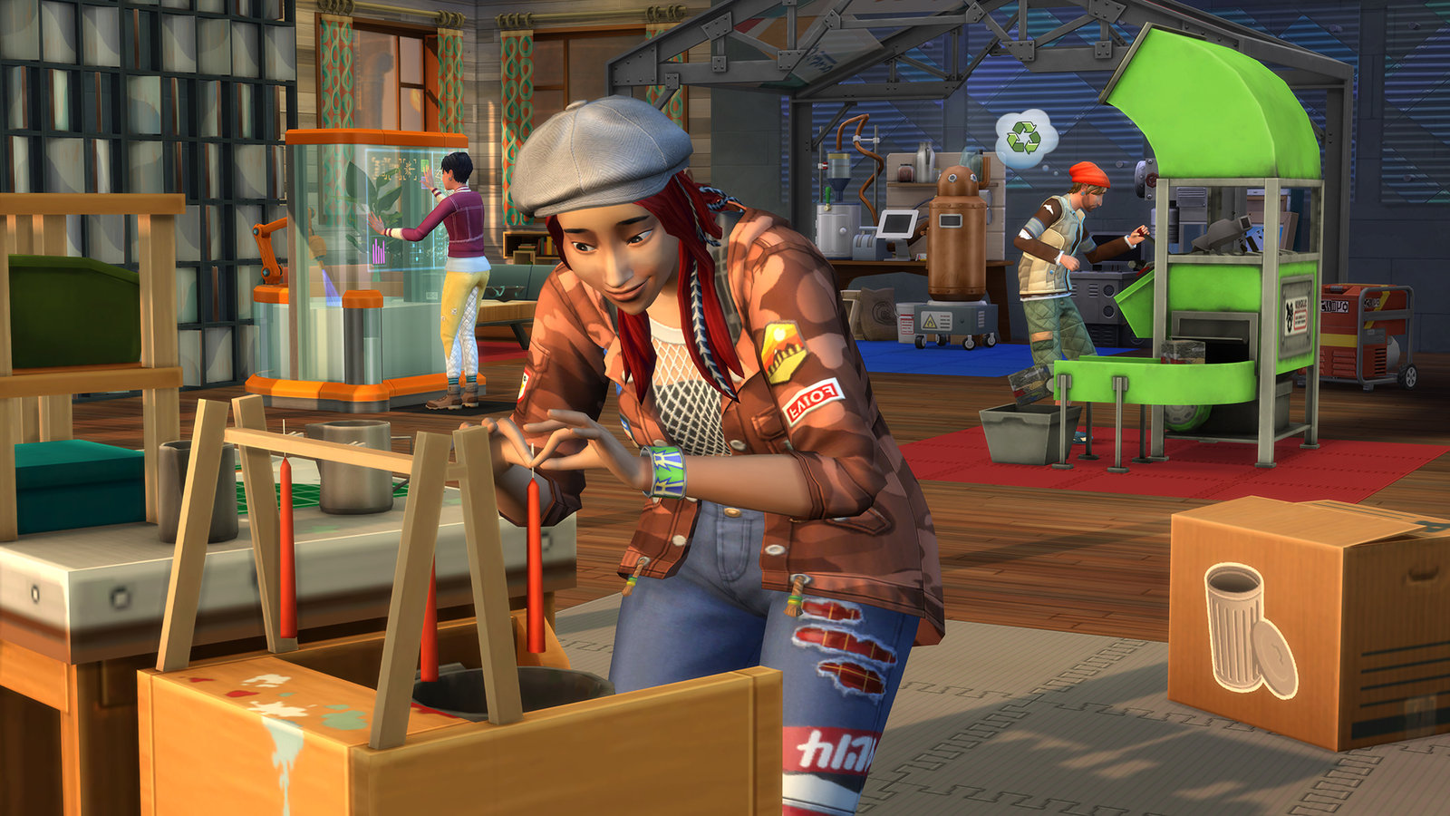 The Sims 4: Eco Lifestyle image 1
