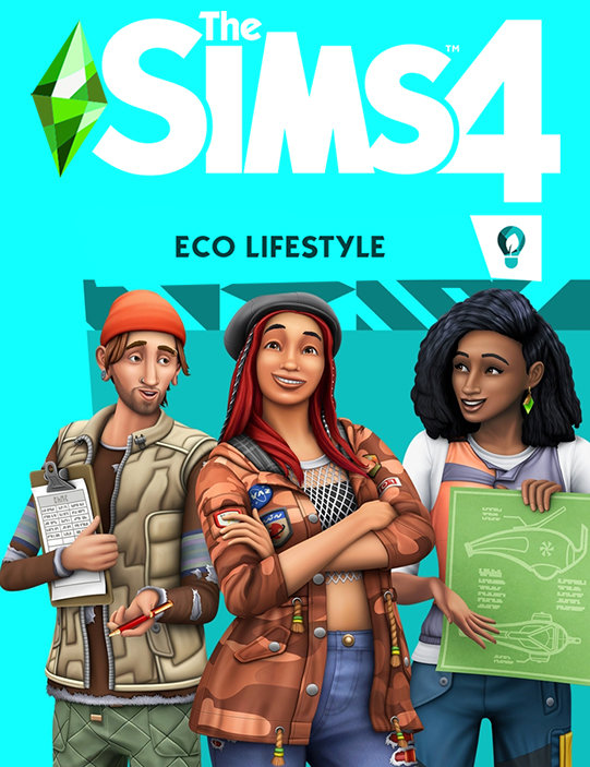 Poster for The Sims 4: Eco Lifestyle