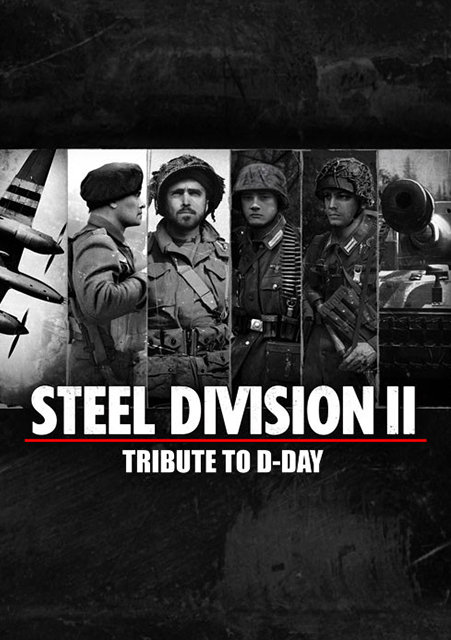 Poster for Steel Division 2 - Tribute to D-Day
