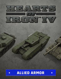 Poster for Hearts of Iron IV: Allied Armor Pack