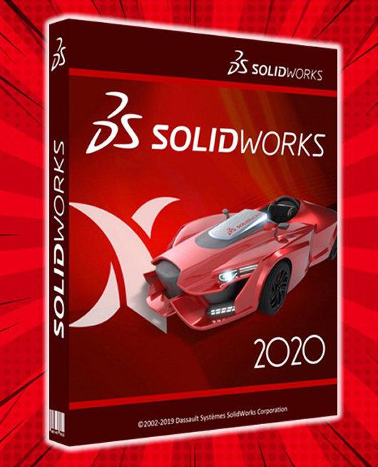 Poster for DS SolidWorks 2020