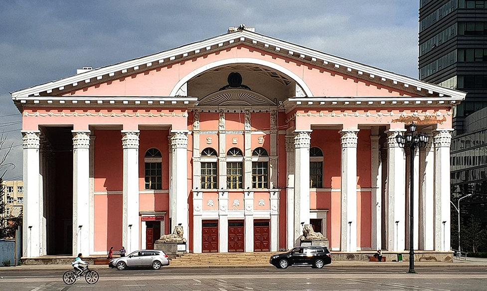 Le théâtre National de l'Opéra et du Ballet de Mongolie 200609094934720117