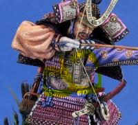 Samouraï archer Pegaso 90 mm : terminé Mini_200610024153801885