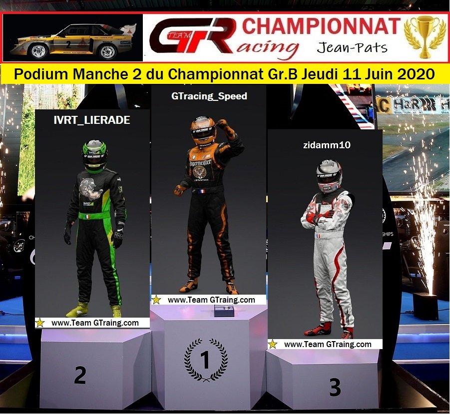Résultat Manche 2 du Championnat Gr.B Jeudi 11 Juin 2020 200612034204203953