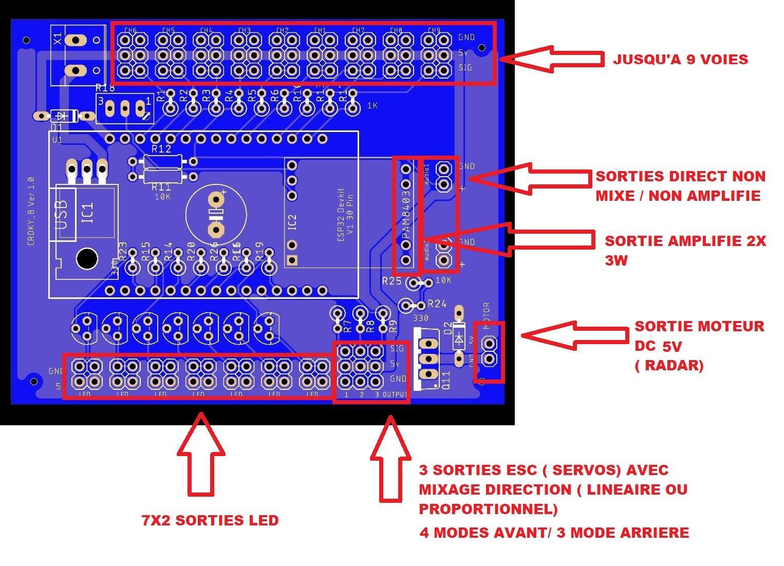 Carte multi fonctions ( son, lumière et mixages) 200612121645951009