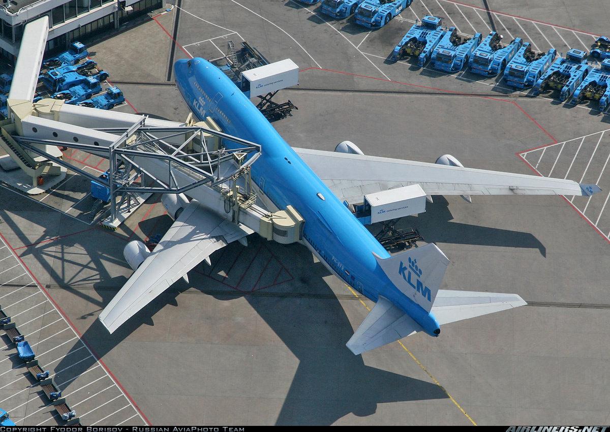 747 klm amsterdam jetway