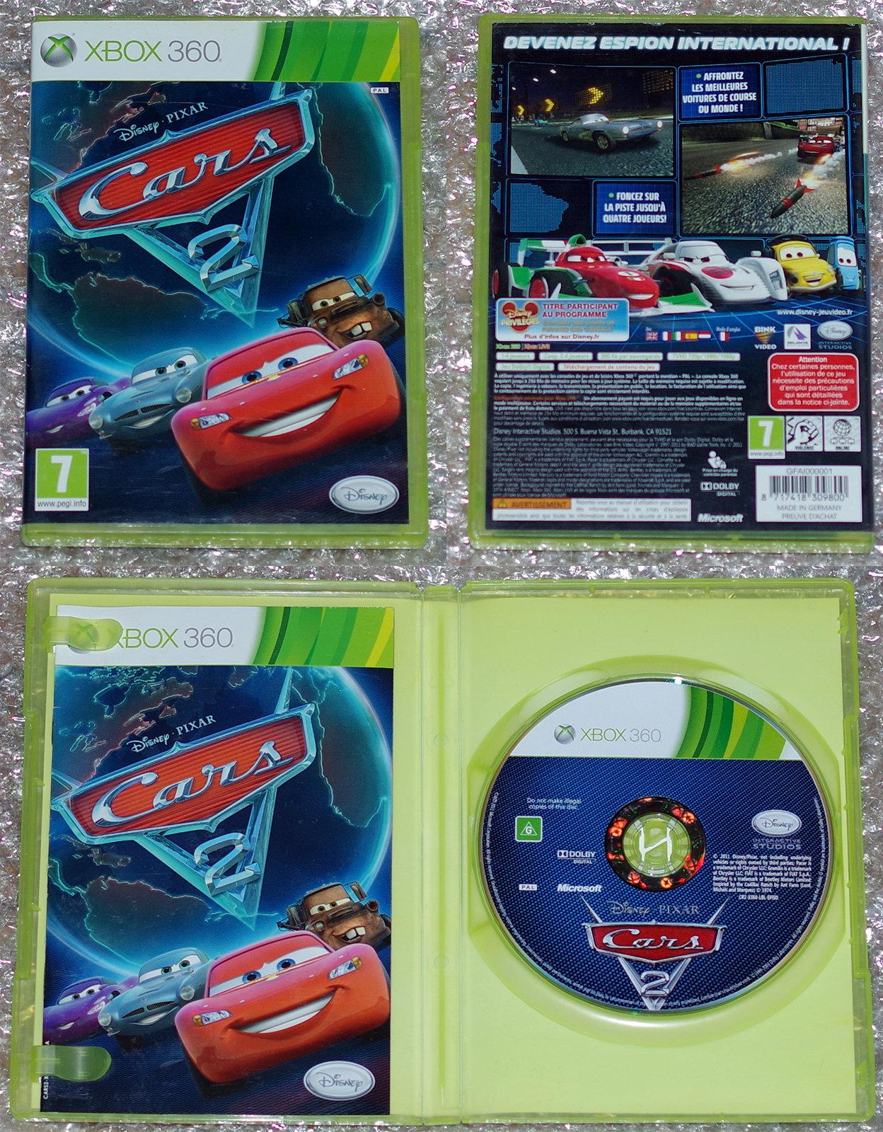 [VDS] Cars 2 - XBOX 360 - 10€ sur Paris. 20061411140569666