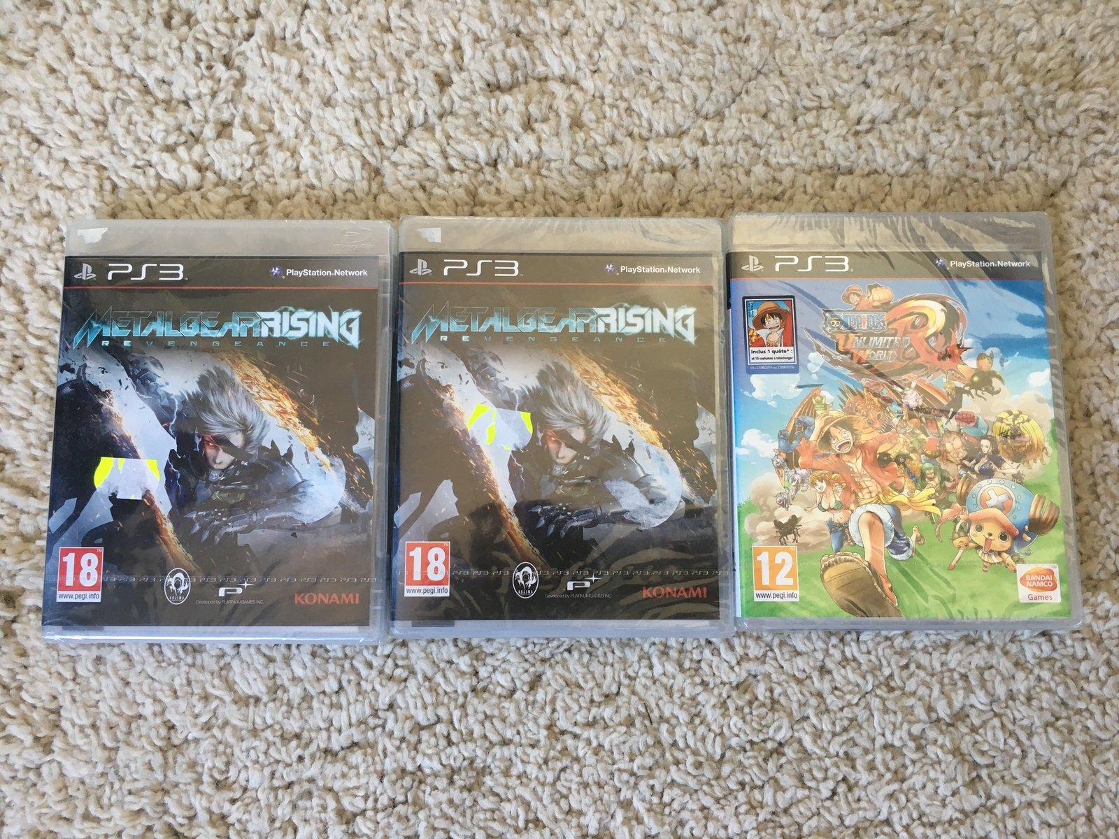 [VDS] Jeux PS3, PS2, Naruto Boruto collector PS4, VITA, matos PSOne MAJ 24/06/2020 200624101936667181