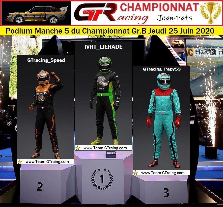 Résultats Manche 5 du Championnat Gr.B Jeudi 25 Juin 2020 200626124753350572