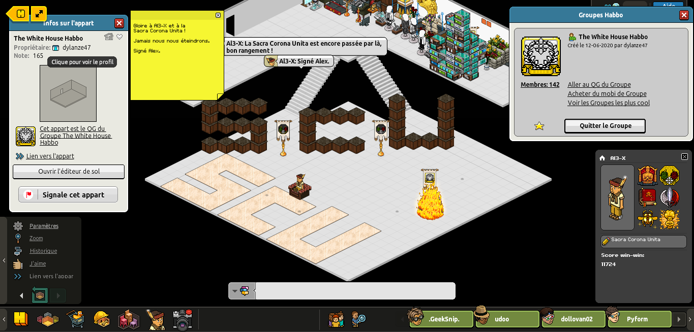 [Al3-X] The White House Habbo [G] [27/06/2020] 200627020350879133