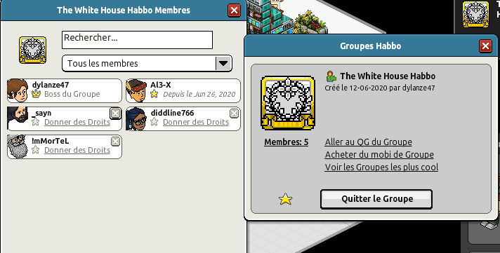 [Al3-X] The White House Habbo [G] [27/06/2020] 200627020351681558