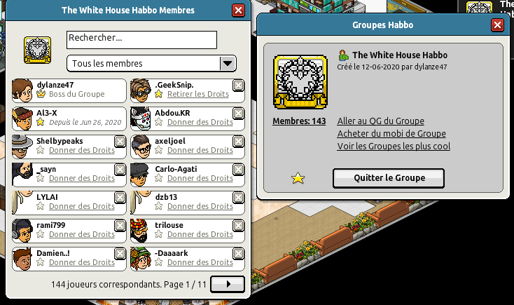 [Al3-X] The White House Habbo [G] [27/06/2020] 200627020353230750