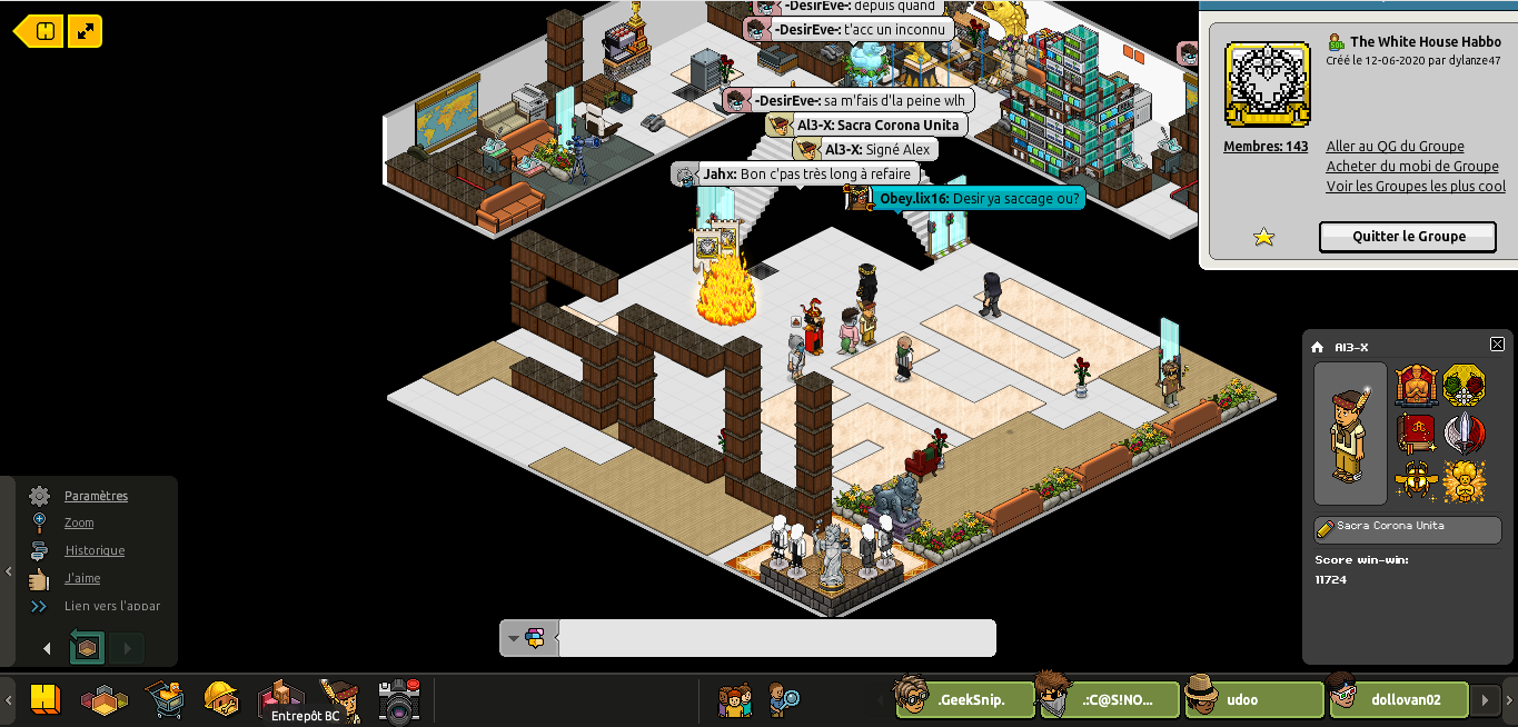 [Al3-X] The White House Habbo [G] [27/06/2020] 200627020353373531