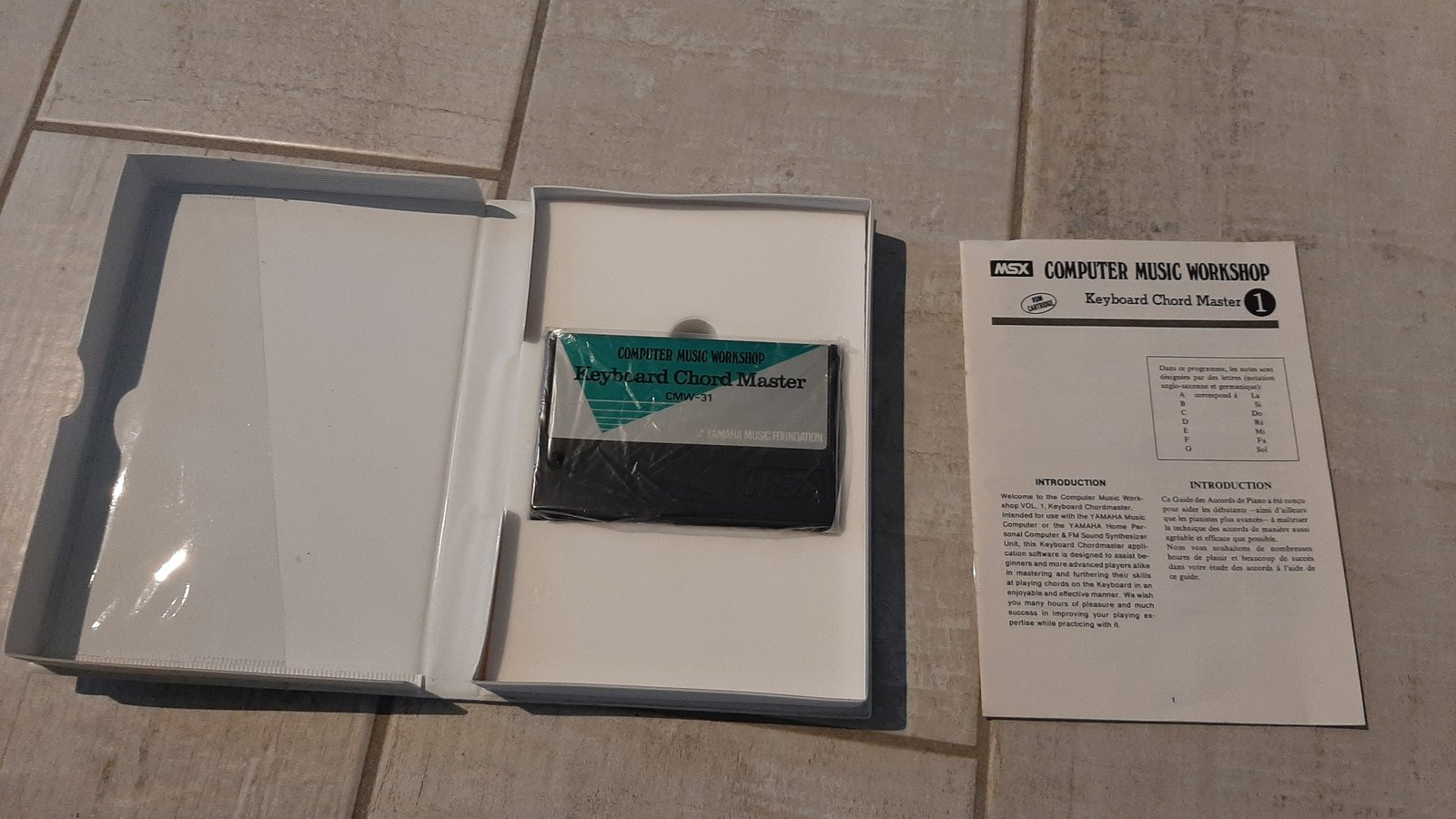 [Estimation] MSX CX5M YAMAHA + clavier MAO + lecteur D7 Sony Fit Bit + souris Yamaha 200627023222446710