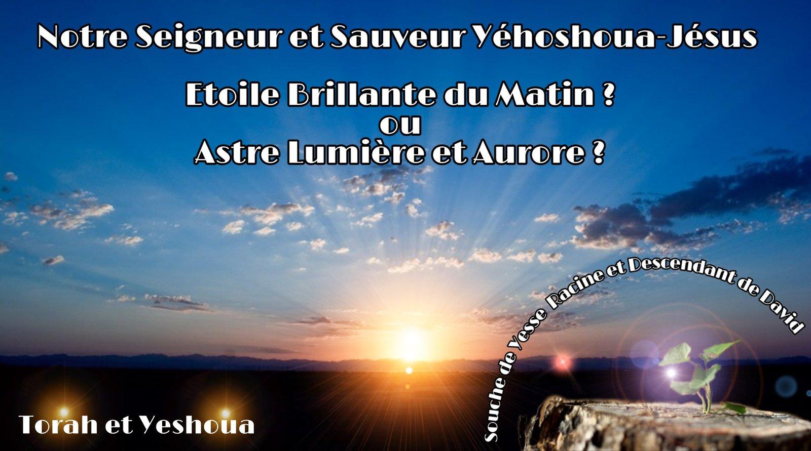 Etoile brillante du matin ou Astre Lumière et Aurore  200629111722984406