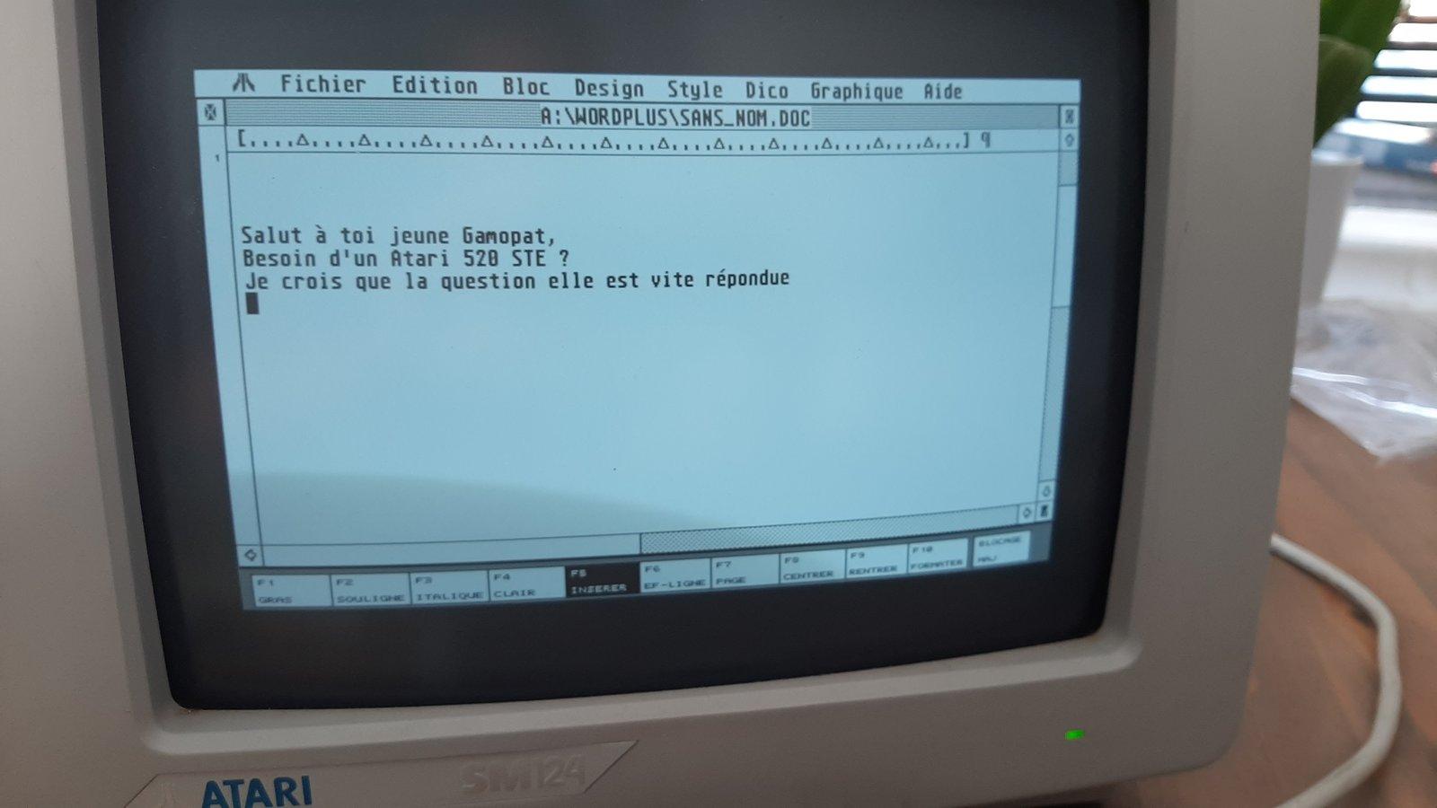 [Vendu] Atari 520 STE 200704014747881165