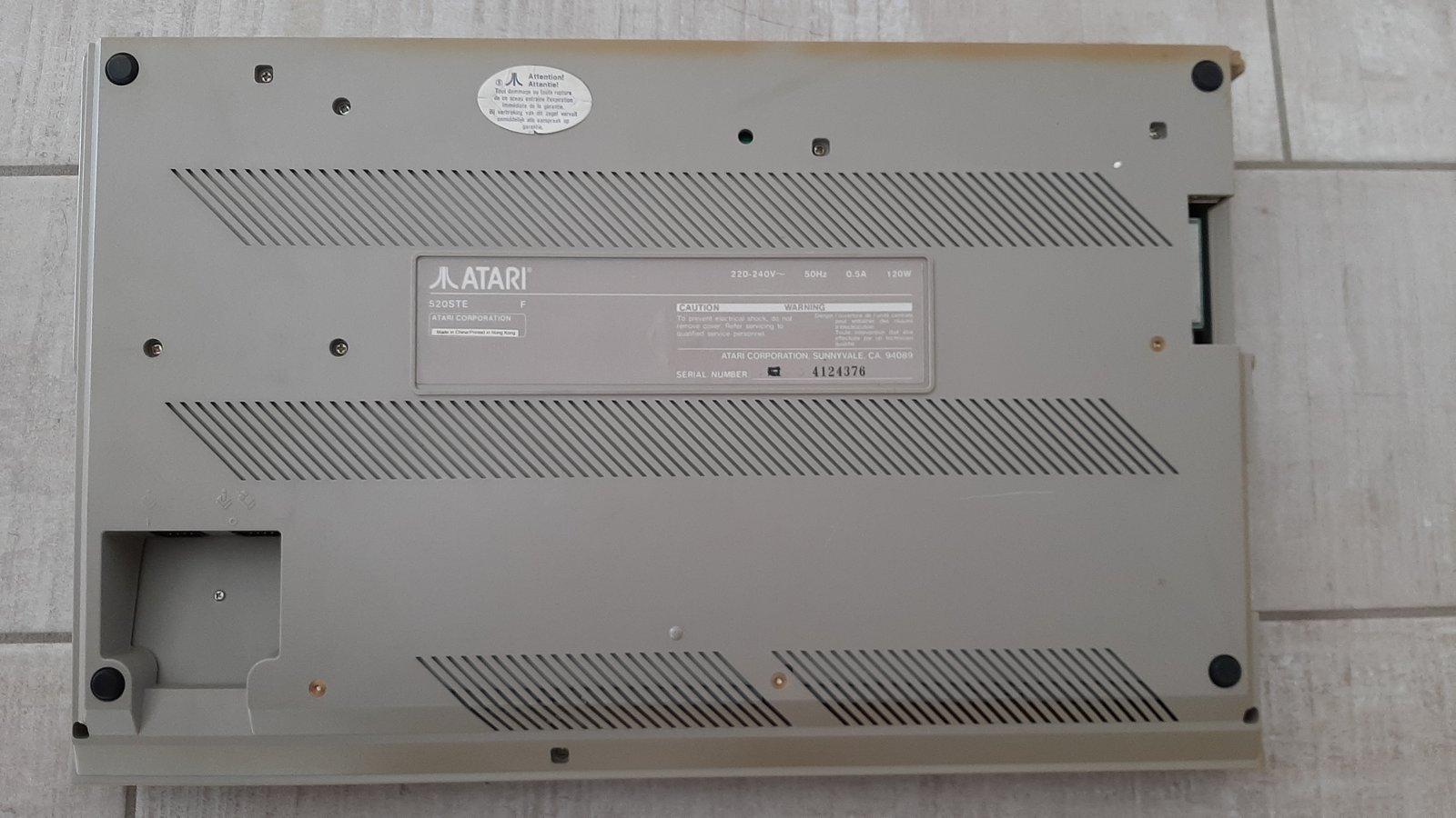 [Vendu] Atari 520 STE 200704014749542703