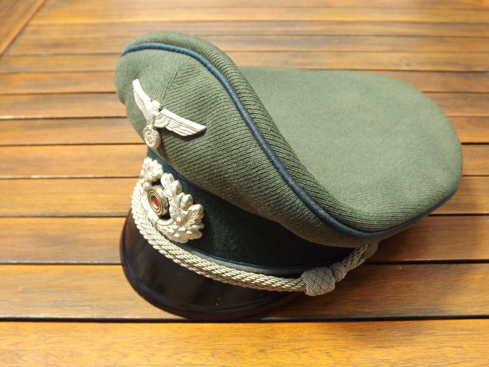 Casquette Officier HEER TSD 200706072943294642