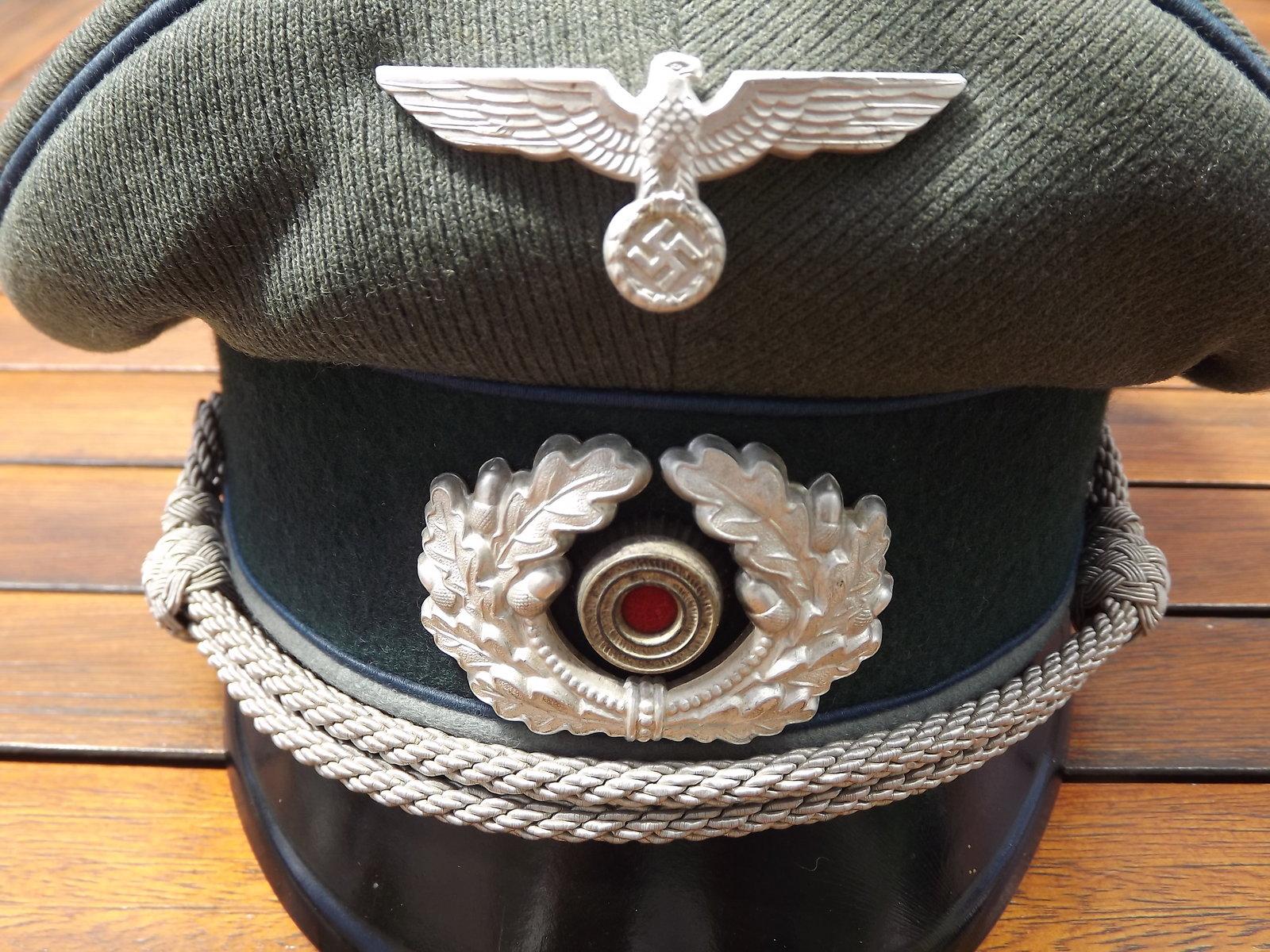 Casquette Officier HEER TSD 200706072957734576