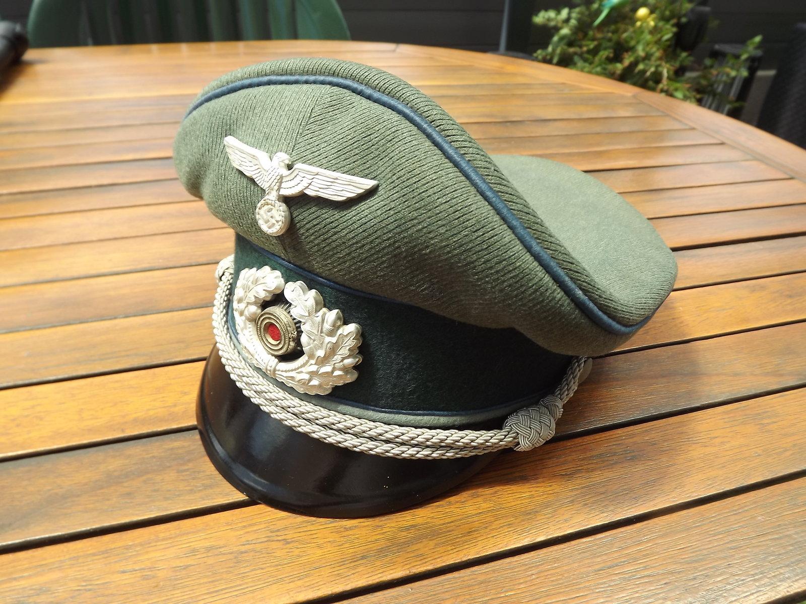 Casquette Officier HEER TSD 200706073503305955