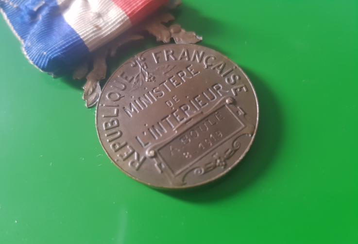 Médaille française  20071704095833621