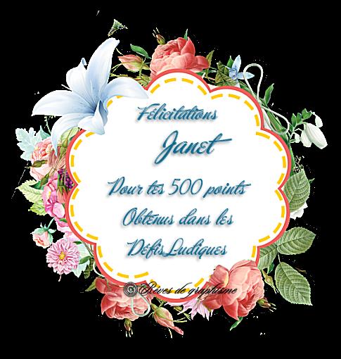 Récompense Janet 500 points 200721071422719633