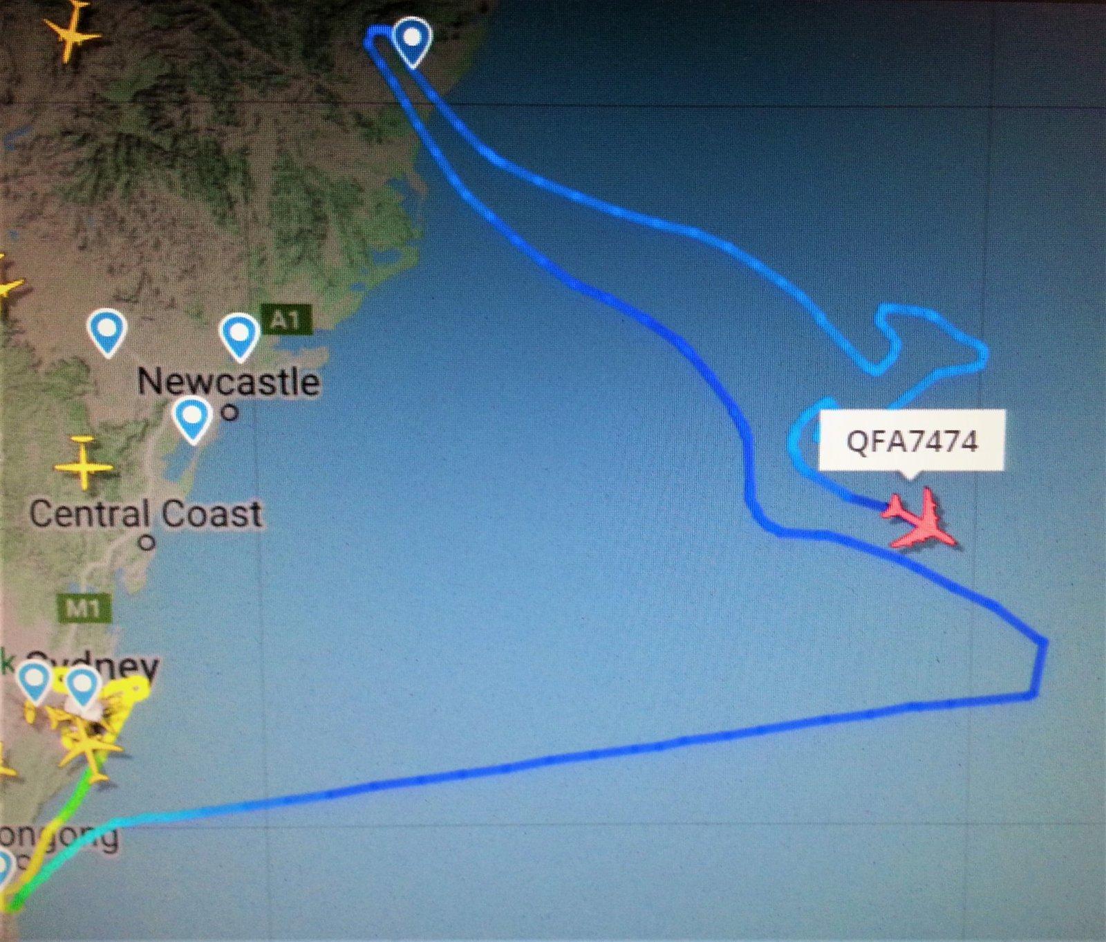 747 qf last flight 1