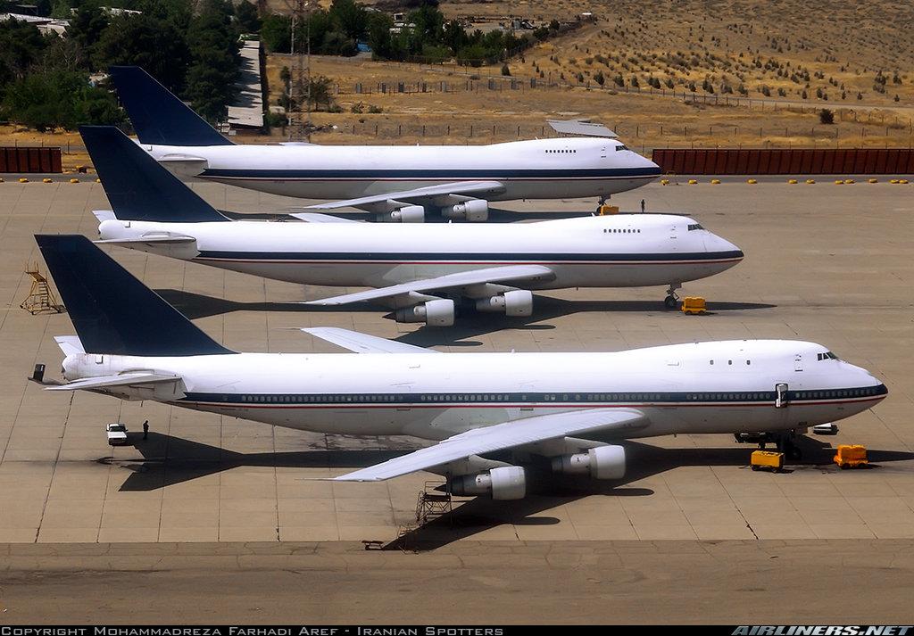 747 iranian air force
