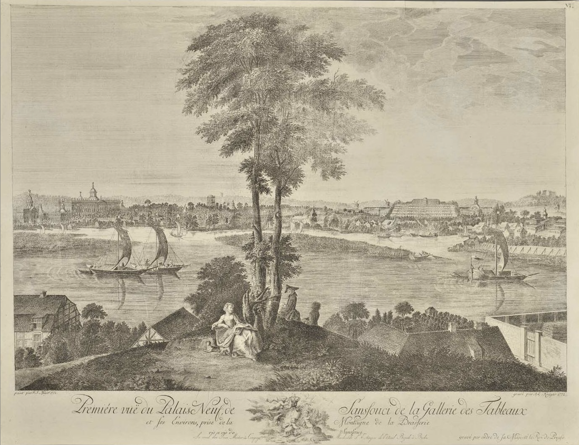 Le palais et le parc de Sans-souci, ou Sanssouci, à Potsdam  200726021019627210