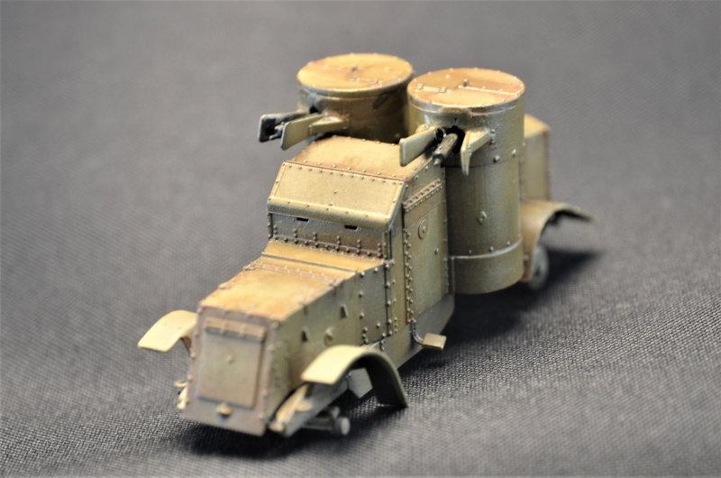 British Armoured Car - Austin MK III - Master Box - 1:72 200729065504721465