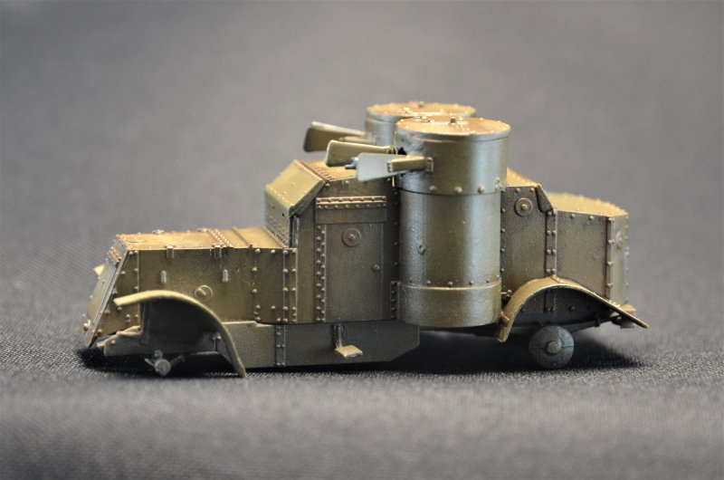 British Armoured Car - Austin MK III - Master Box - 1:72 200729065504925875