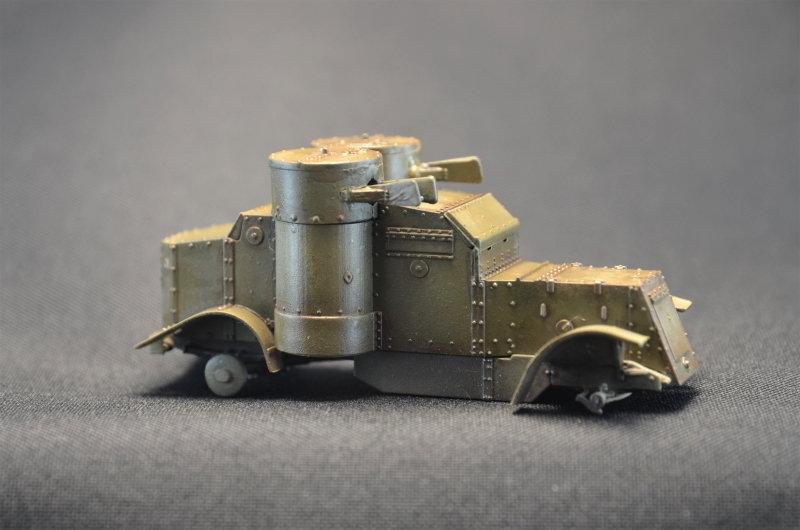 British Armoured Car - Austin MK III - Master Box - 1:72 200729065505172654