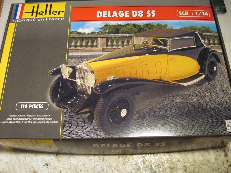 DELAGE D8 SS Heller 1/24 200729092326930929