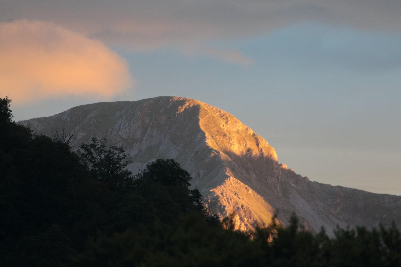 Coucher de soleil depuis Sorgente Puzza 3