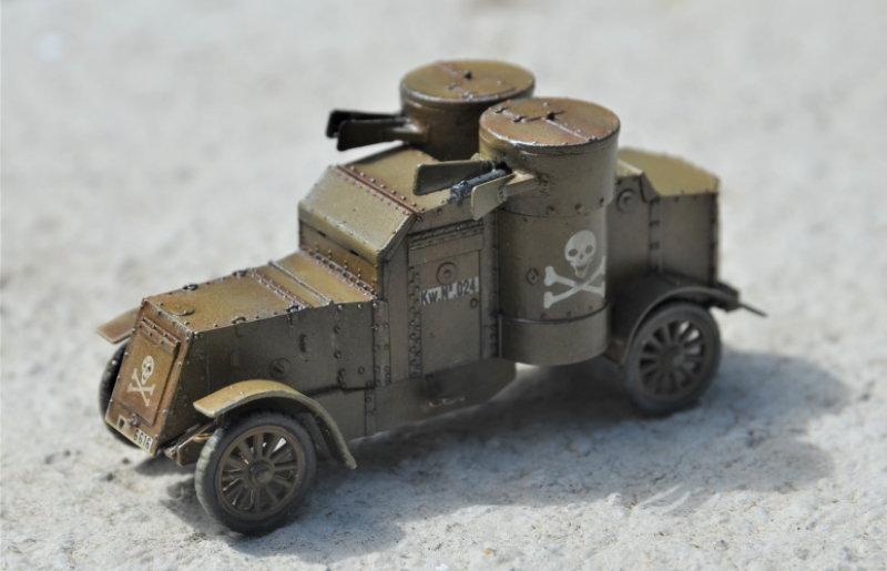 British Armoured Car - Austin MK III - Master Box - 1:72 200802052958247422