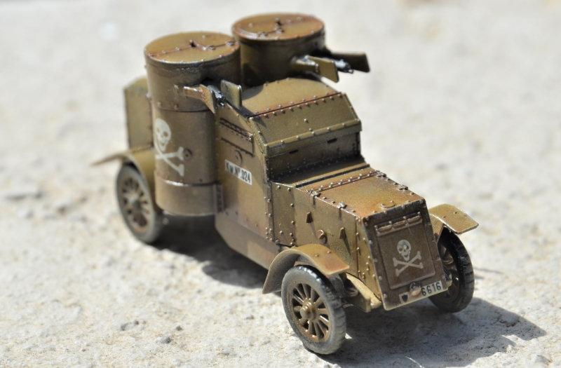 British Armoured Car - Austin MK III - Master Box - 1:72 200802052958412180