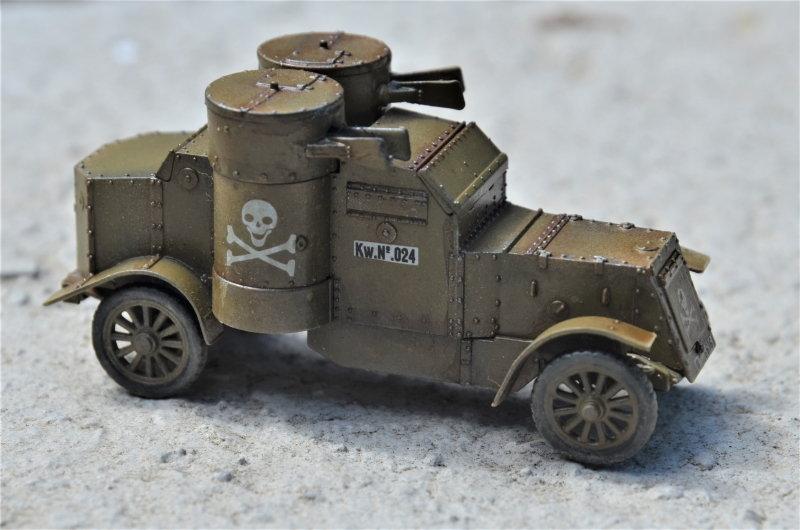 British Armoured Car - Austin MK III - Master Box - 1:72 200802052958663026