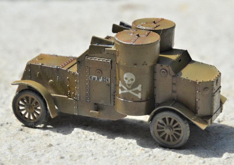 British Armoured Car - Austin MK III - Master Box - 1:72 200802052958921623